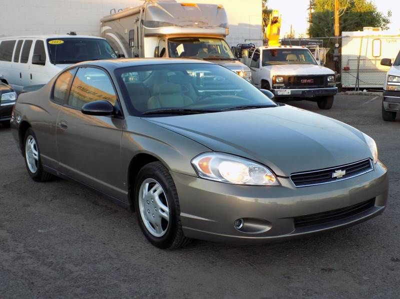 2006 chevrolet monte carlo lt 2dr coupe w 3lt in phoenix for Discount motors jacksboro hwy inventory