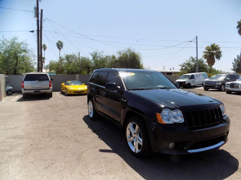 2008 JEEP GRAND CHEROKEE SRT8 4X4 4DR SUV black financing available all prices are subject to tax