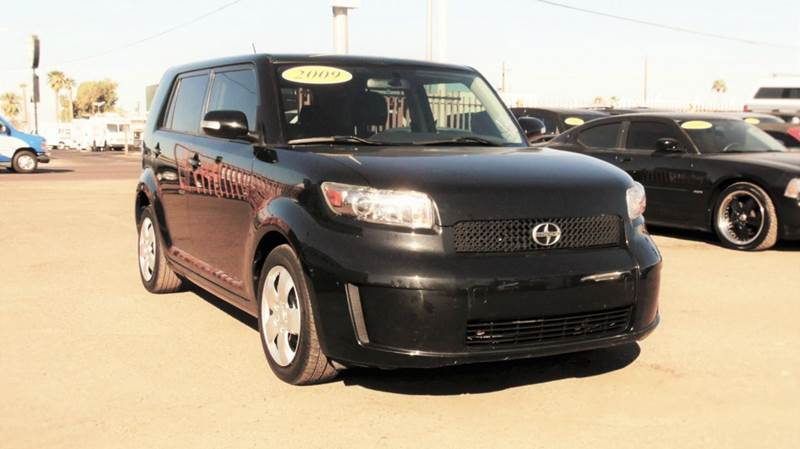 2009 SCION XB BASE 4DR WAGON 5M black the dependable 2009 scion xb  is convenient in gas it has