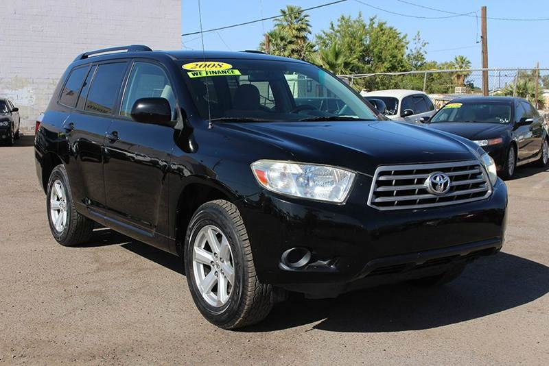 2008 TOYOTA HIGHLANDER BASE 4DR SUV black come down to discount auto sales and look at this 2008 t