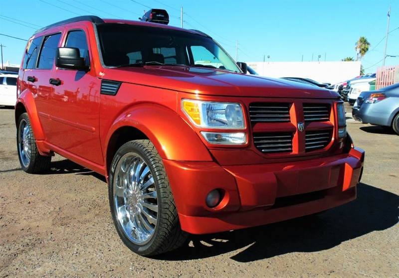 2007 DODGE NITRO RT 4WD 4DR SUV orange the 2007 dodge nitro rt is perfect for the person that w