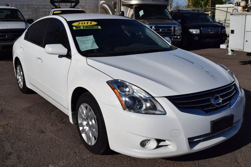 2011 NISSAN ALTIMA 25 S 4DR SEDAN white if you are looking for a secure and fuel efficient vehicl