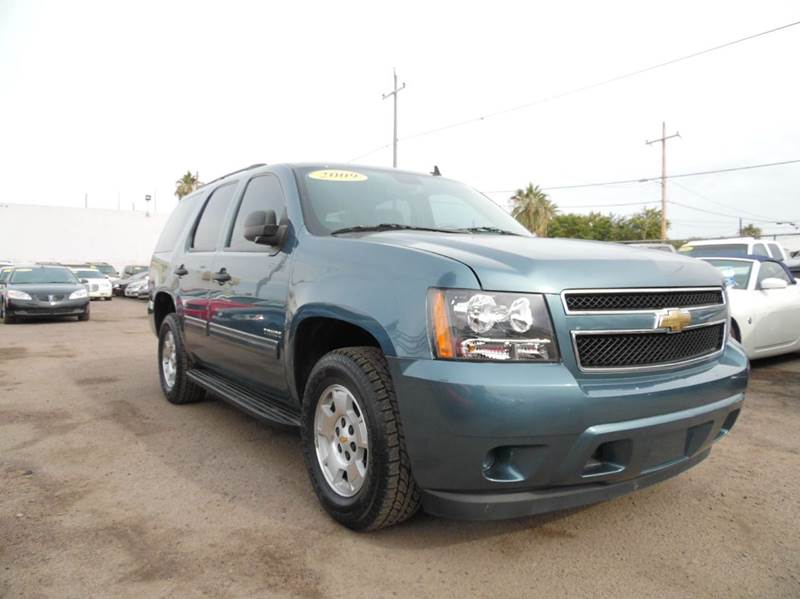 2009 CHEVROLET TAHOE LS 4X2 4DR SUV green 2009 chevrolet tahoe ls 48l v8 engine automatic tra
