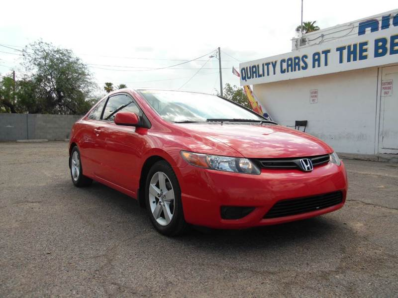 2008 HONDA CIVIC EX 2DR COUPE 5A red 2009 honda civic ex 18l i4 engine automatic transmission