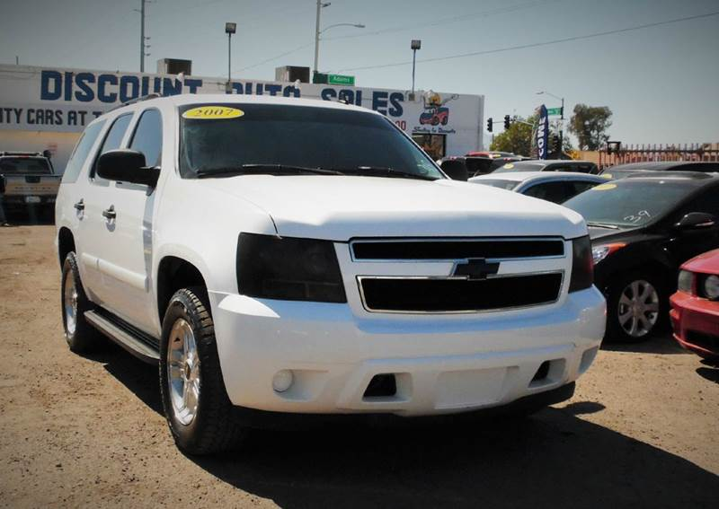 2007 CHEVROLET TAHOE LS 4DR SUV white this very clean and dependable 2007 chevrolet tahoe ls has a