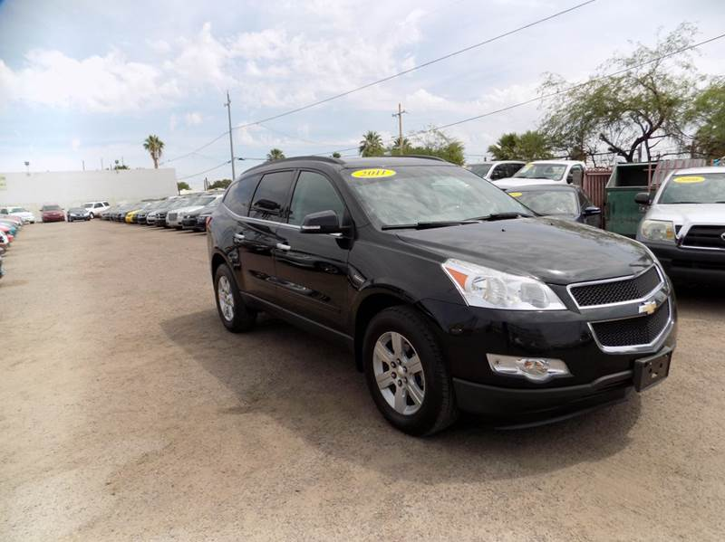 2011 CHEVROLET TRAVERSE LT AWD 4DR SUV W1LT black financing available all prices are subject to