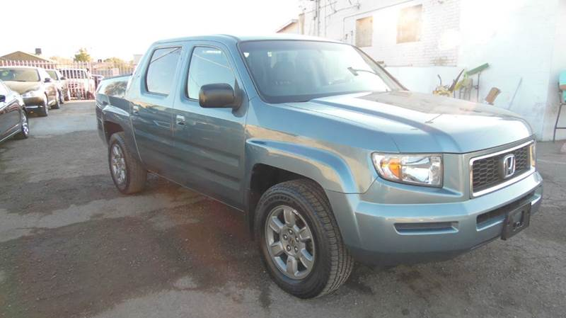 2007 HONDA RIDGELINE RTX AWD 4DR CREW CAB blue green the amazing 2007 honda ridgelin rtx is equi