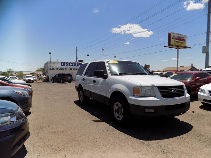 2006 FORD EXPEDITION SSV FLEET 4DR SUV 4WD white financing available all prices are subject to ta