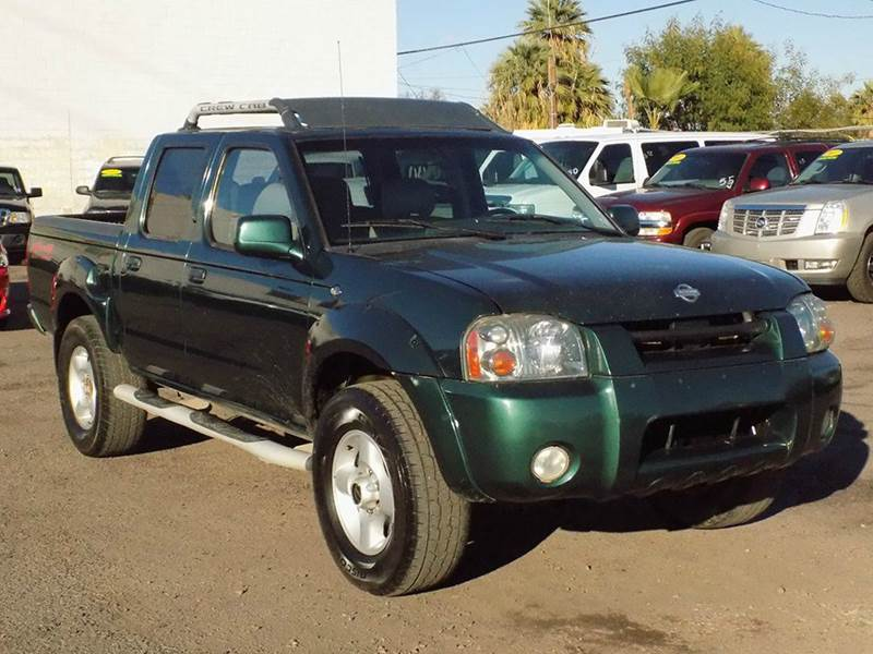 2001 NISSAN FRONTIER XE 4DR 4WD CREW CAB SB green need a 4wd pickup truck if so this 2001 nissan