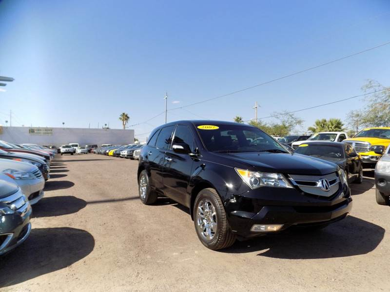 2007 ACURA MDX SH-AWD WSPORT PACKAGE 4DR SUV P black financing available all prices are subject