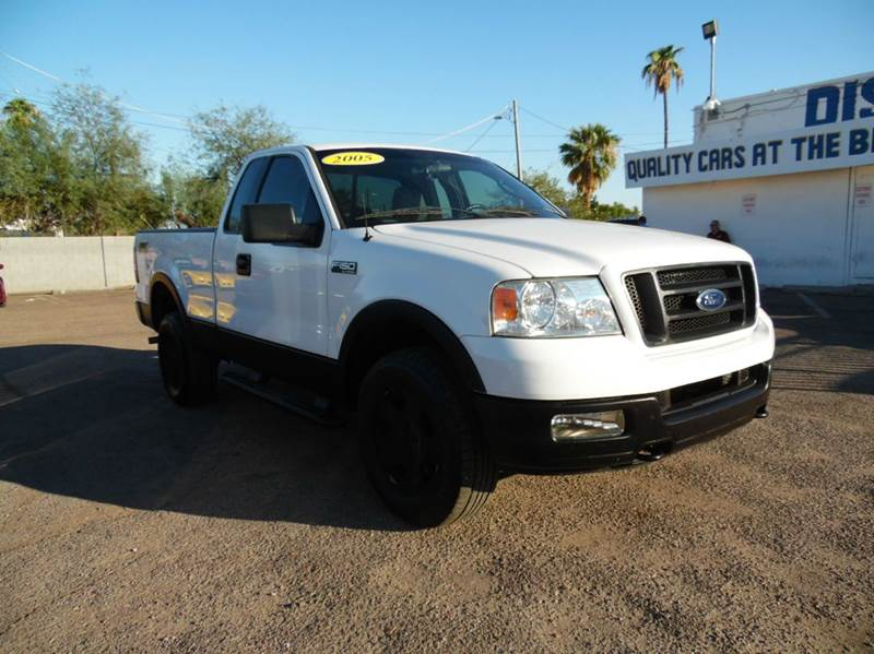 2005 FORD F-150 FX4 2DR REGULAR CAB 4WD STYLESID white 2005 ford f150 fx4 54l v8 engine automa