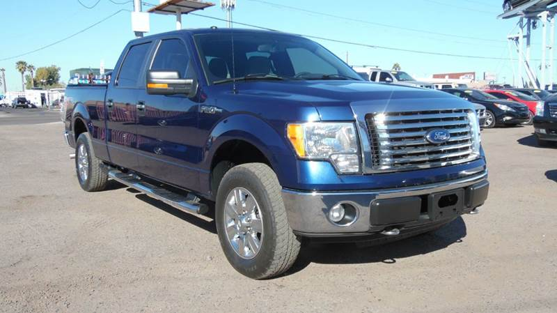 2010 FORD F-150 XLT 4X4 4DR SUPERCREW STYLESIDE blue this 2010 ford f-150 is very clean and beauti