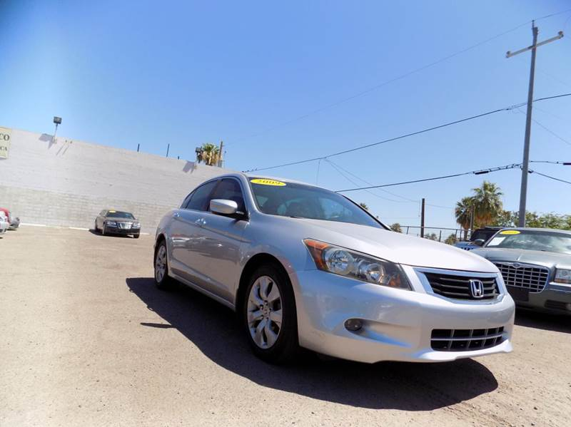 2009 HONDA ACCORD EX-L V6 4DR SEDAN 5A silver financing available all prices are subject to tax