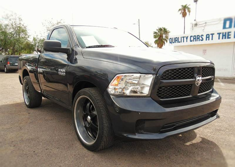 2013 RAM RAM PICKUP 1500 TRADESMAN 4X2 2DR REGULAR CAB 6 gray this very clean and dependable 2013