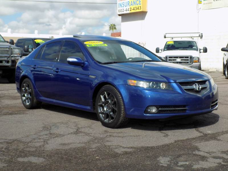 2008 ACURA TL TYPE-S 4DR SEDAN 5A blue here is a beautiful 2008 acura tl type-s with kinetic blu