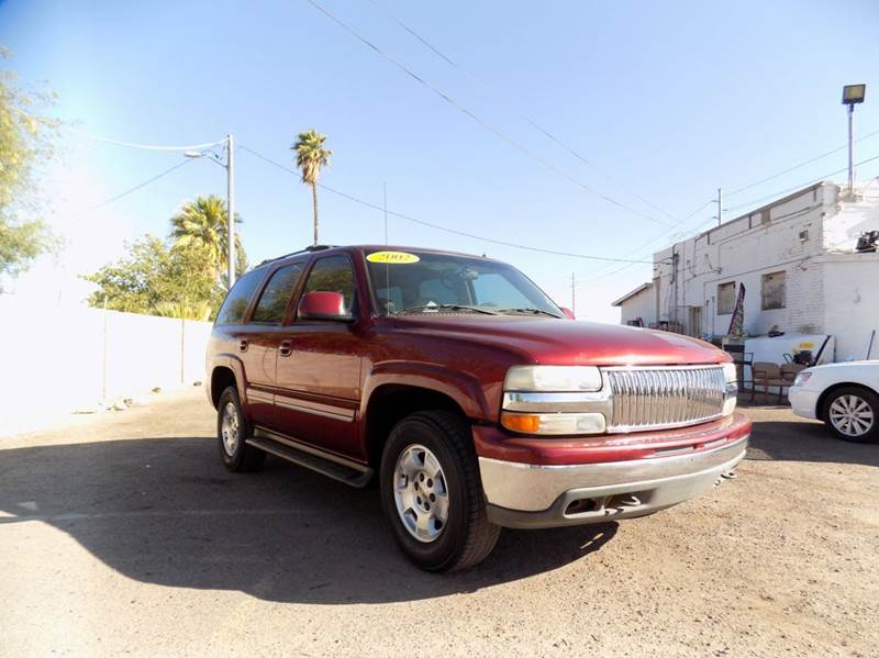 2002 CHEVROLET TAHOE LT 4WD 4DR SUV maroon financing available all prices are subject to tax ti