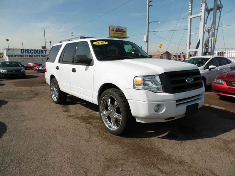 2009 FORD EXPEDITION XLT 4X4 4DR SUV white 2009 ford expedition xlt 54l v8 engine automatic tra