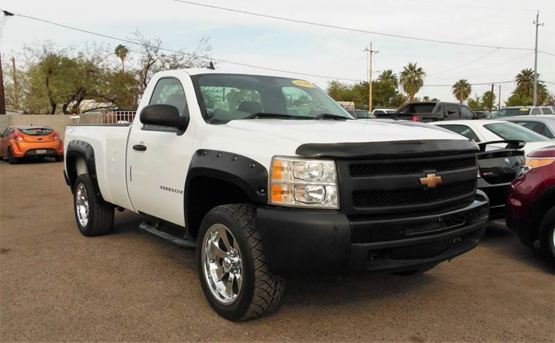 2009 CHEVROLET SILVERADO 1500 WORK TRUCK 4X2 2DR REGULAR CAB 6 white if you are looking for a reg