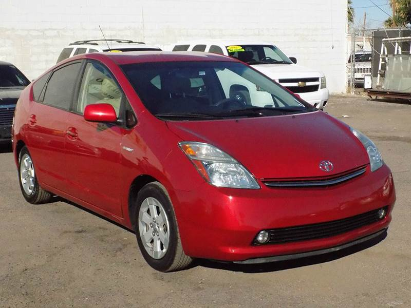 2007 TOYOTA PRIUS BASE 4DR HATCHBACK red need a gas saving vehicle if so the 2007 toyota prius is