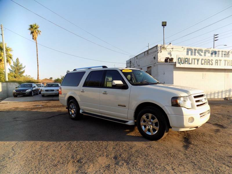 2007 FORD EXPEDITION EL LIMITED 4DR SUV 4X4 white financing available all prices are subject to t