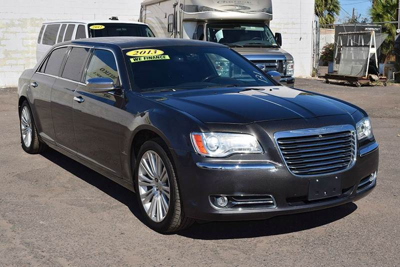 2013 CHRYSLER 300 C LIMOUSINE gray the used and improved 2013 chrysler 300 is secure and dependabl
