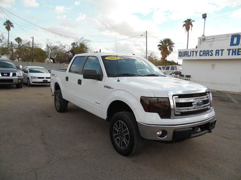 2013 FORD F-150 XLT 4X4 4DR SUPERCREW STYLESIDE white 2013 ford f150 xlt 35l v6 engine automati