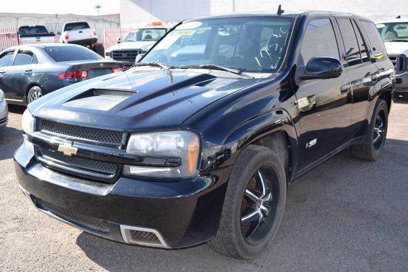 2007 CHEVROLET TRAILBLAZER SS 4DR SUV black if you are in the market for a fuel efficient conveni