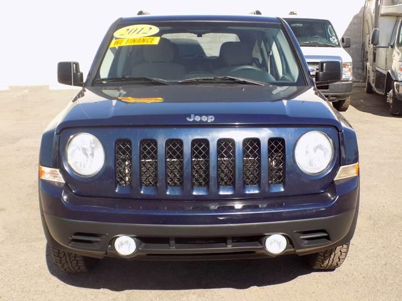 2012 jeep patriot sport 4dr suv in phoenix az discount. Black Bedroom Furniture Sets. Home Design Ideas