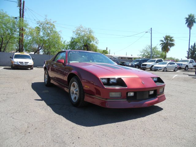 1989 CHEVROLET CAMARO IROC Z 2DR HATCHBACK burgundy an oldie but a goodie all the way from beau