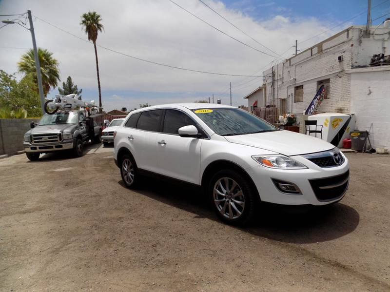 2011 MAZDA CX-9 GRAND TOURING 4DR SUV white financing available all prices are subject to tax ti