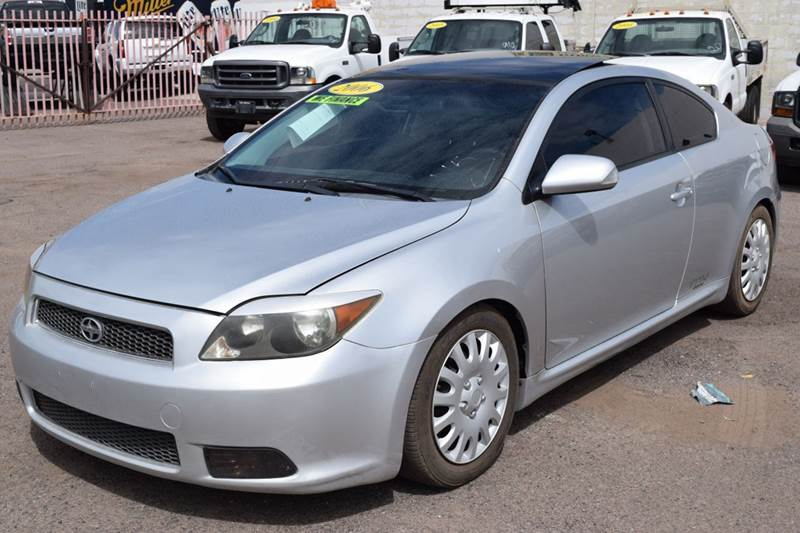 2006 SCION TC BASE 2DR HATCHBACK WMANUAL silver this 2006 scion tc 2 door hatchback is a very se
