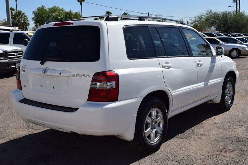 2005 toyota highlander limited 4dr suv w 3rd row in phoenix az discount auto sales. Black Bedroom Furniture Sets. Home Design Ideas
