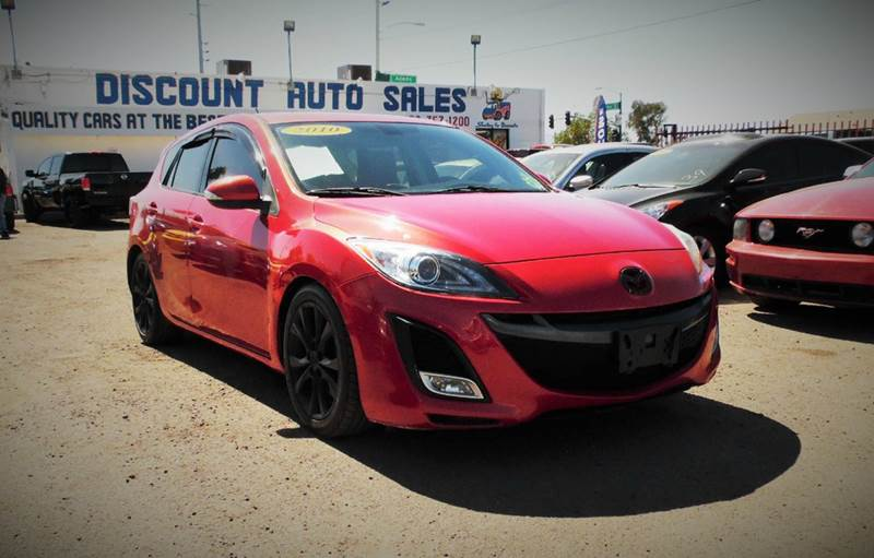 2010 MAZDA MAZDA3 S GRAND TOURING 4DR HATCHBACK 6M red this 2010 mazda mazda 3 series is very dep