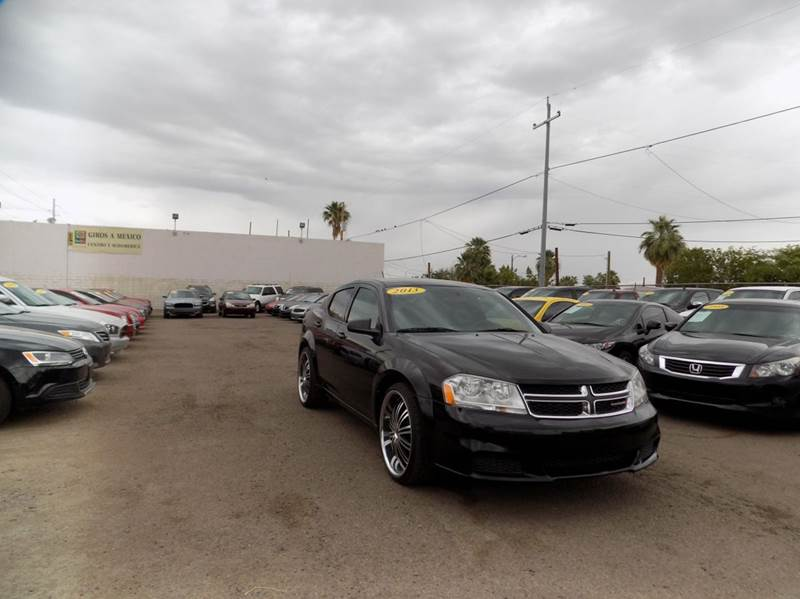 2013 DODGE AVENGER SE 4DR SEDAN black financing available all prices are subject to tax title r
