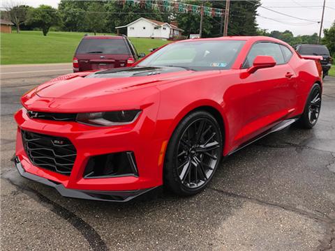 2017 Chevrolet Camaro For Sale In Ohio Carsforsale Com