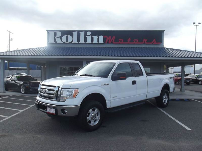 2012 Ford F 150 Xlt 4x4 4dr Supercab Styleside 8 Ft Lb In