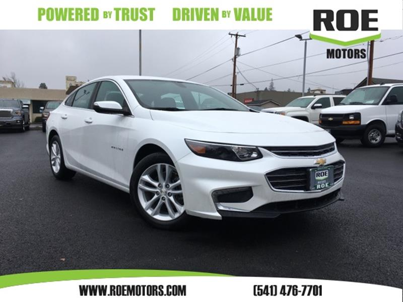 Chevrolet malibu for sale in grants pass or for Roe motors used cars