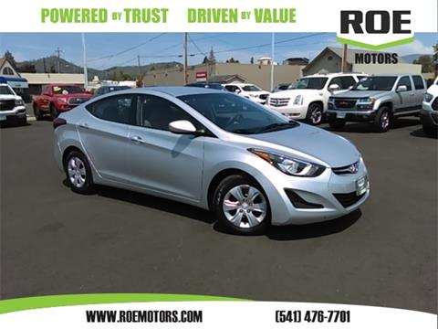 2016 Hyundai Elantra for sale in Grants Pass, OR