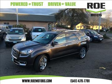 2017 GMC Acadia Limited for sale in Grants Pass, OR