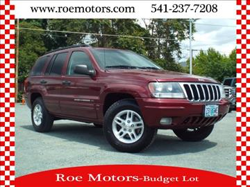 2002 Jeep Grand Cherokee for sale in Grants Pass, OR