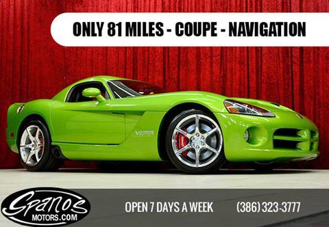 Dodge viper for sale for Spanos motors daytona beach