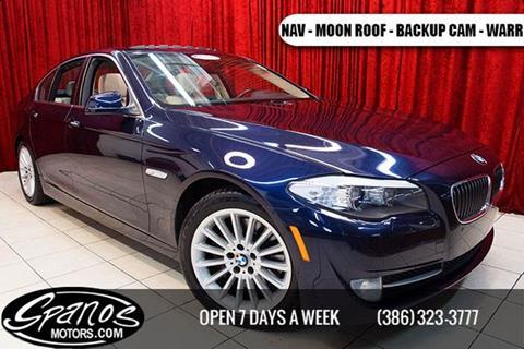 2011 BMW 5 Series for sale in Daytona Beach, FL