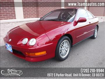 2001 Acura Integra for sale in Denver, CO