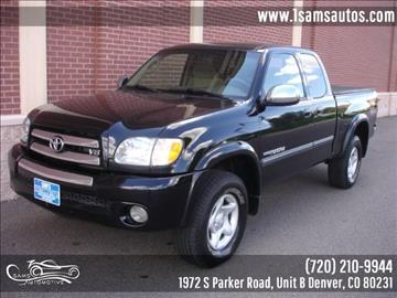 2003 Toyota Tundra for sale in Denver, CO