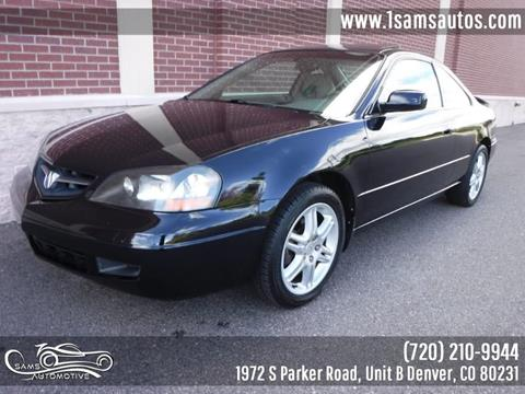 2003 Acura CL for sale in Denver, CO