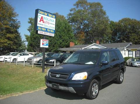 2004 honda pilot for sale north carolina. Black Bedroom Furniture Sets. Home Design Ideas