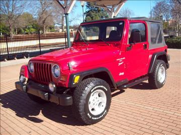 1999 Jeep Wrangler For Sale Carsforsale Com