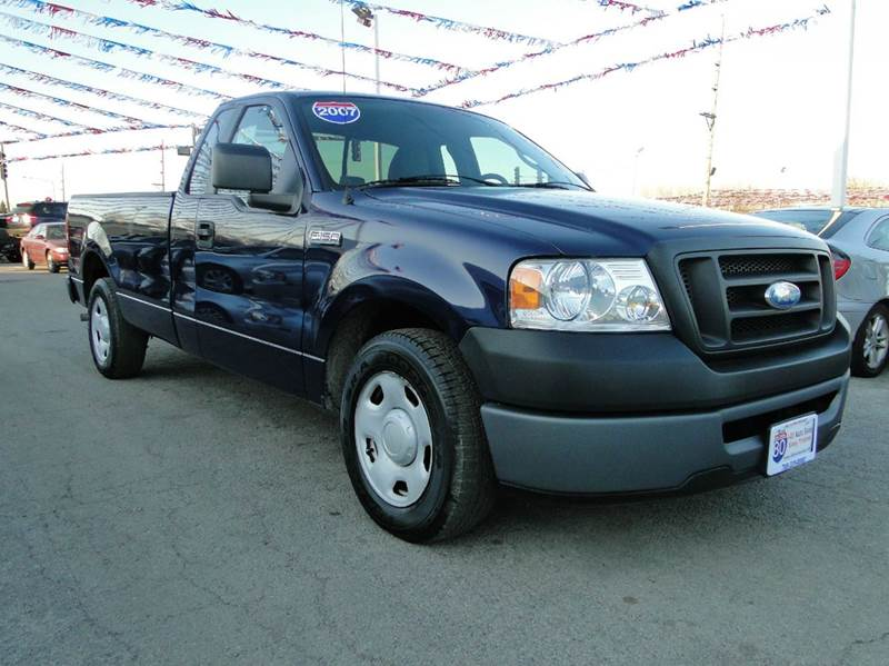2007 ford f 150 xl 2dr regular cab styleside 8 ft lb in hazel crest il i 80 auto sales. Black Bedroom Furniture Sets. Home Design Ideas