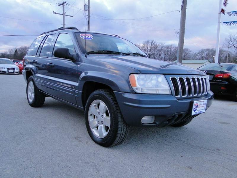 used 2001 jeep grand cherokee limited for sale chicago il cargurus. Cars Review. Best American Auto & Cars Review