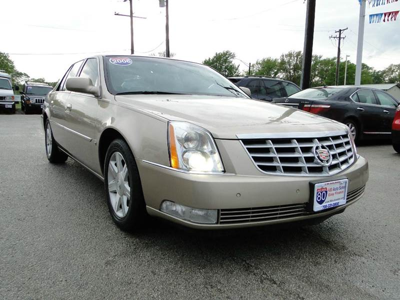 2006 cadillac dts luxury i 4dr sedan in hazel crest il i 80 auto sales. Black Bedroom Furniture Sets. Home Design Ideas